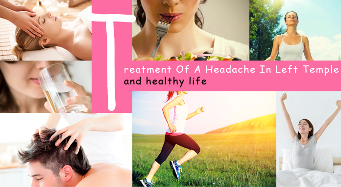 Treatment of a headache and healthy life