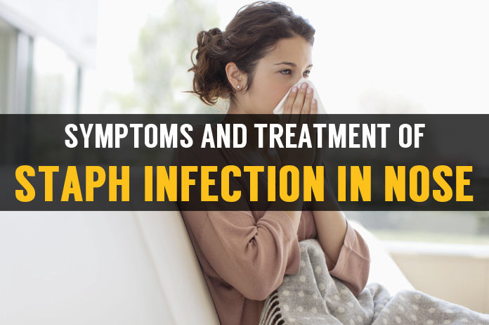 symptoms and treatment staph infection in nose
