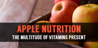 apple nutrition the multitude of vitamins present