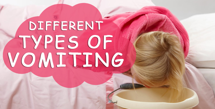 different types of vomiting in babies