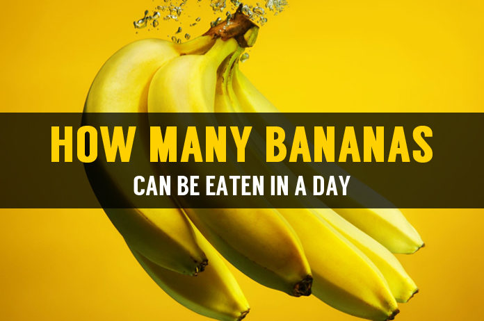 how many bananas can be eaten in a day
