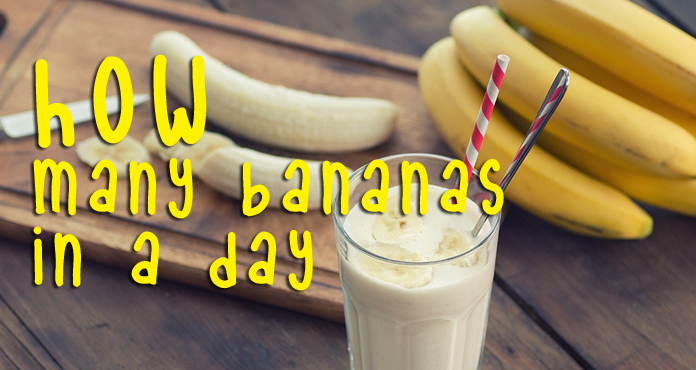 How Many Bananas In A Day