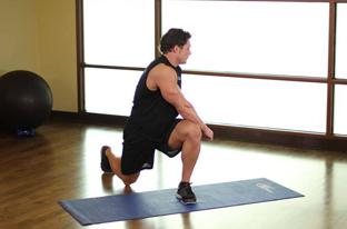 Lunge Twist Exercises