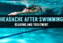 reasons and treatment for headache after swimming