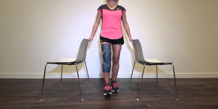 Single Leg Dip Exercise