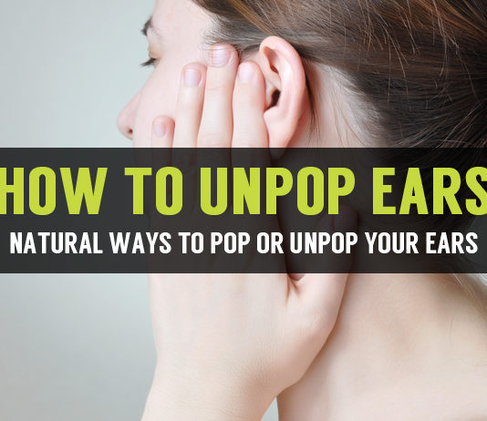 how to unpop ears in natural ways